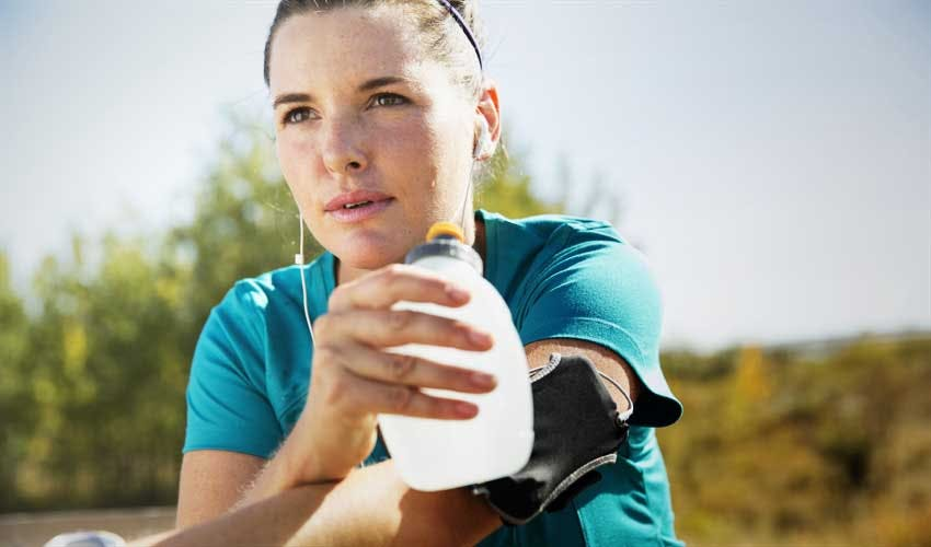 Drink before, during, and after physical activity