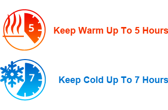 keep warm, keep cold