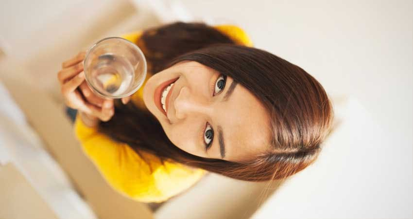 eight glasses of water per day